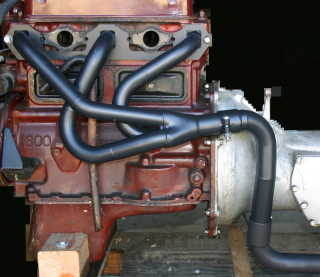 Z Magnette Header on 1600 Engine