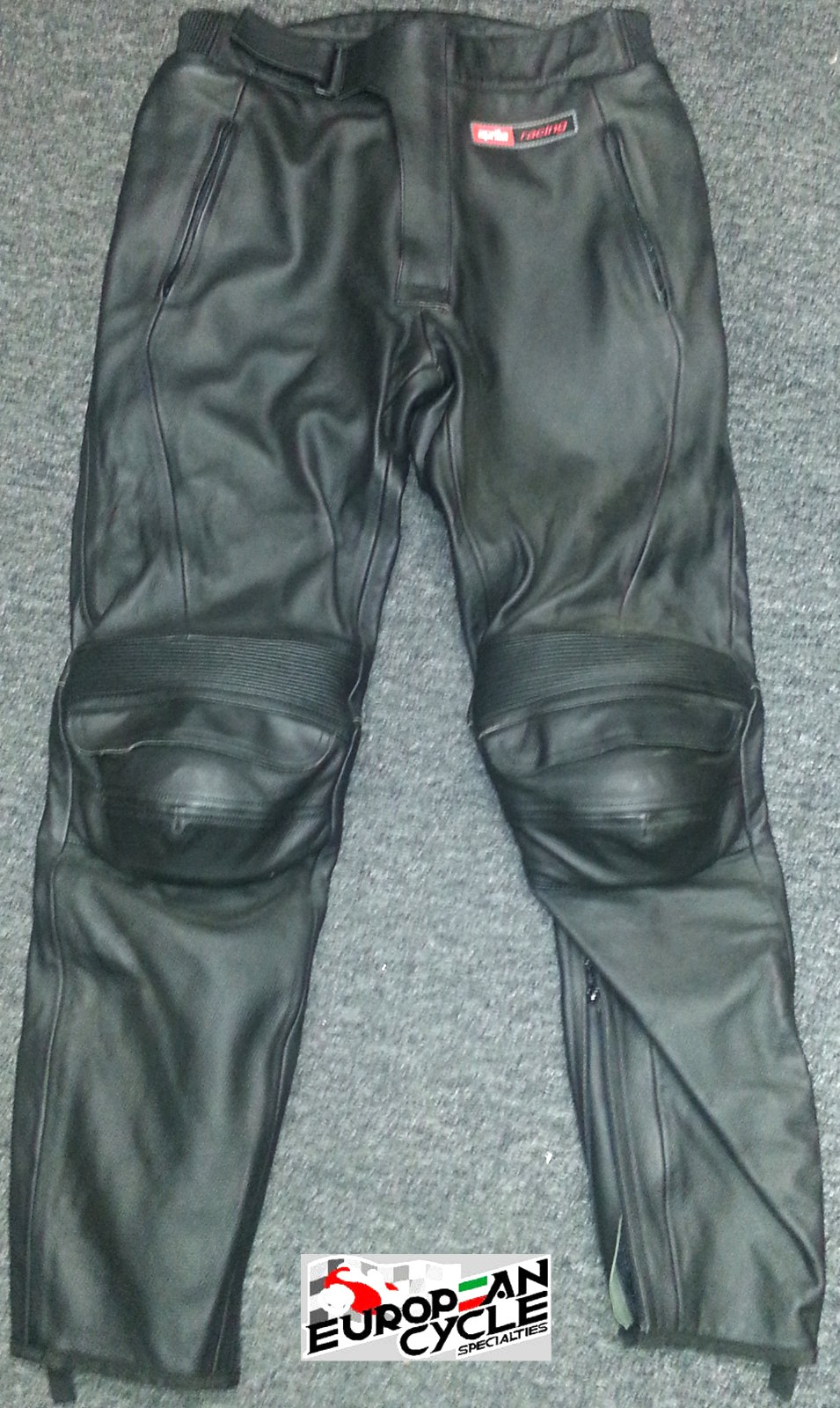Aprila Black Leather Pants AP8707076