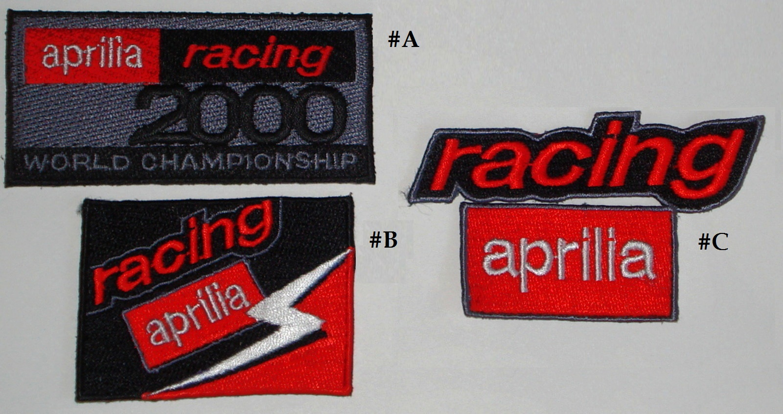 3 Aprilia Racing patches