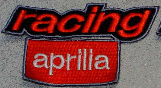 Aprilia Racing lightning patch