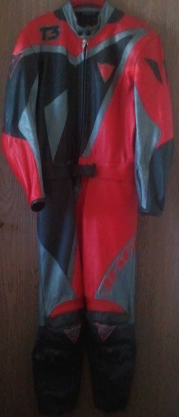 Dainese T3 Motorcycle 2 piece riding suit