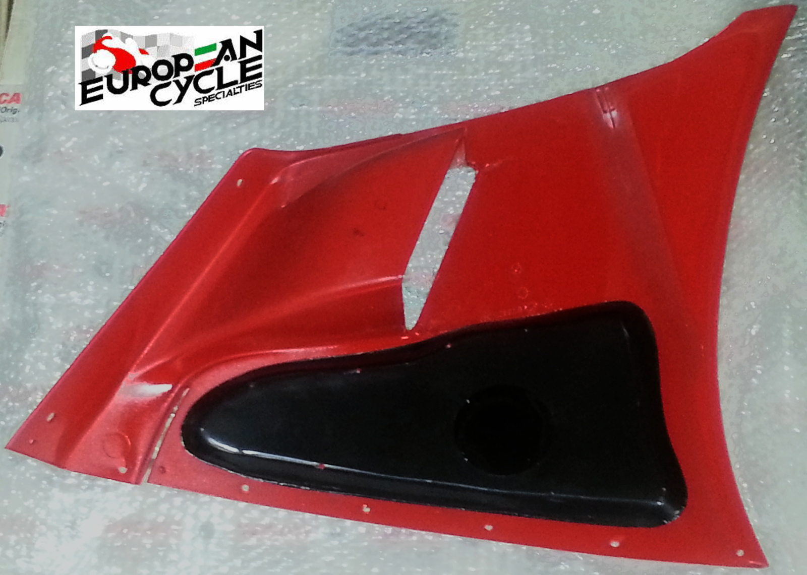 OEM Ducati 748 996 998 left upper fairing back side 48010391A