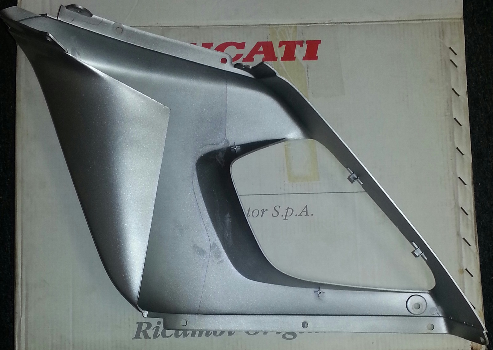OEM Ducati ST2 upper rt fairing