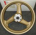 Ducati gold 748 916 996 front rim></A> <br><nobr><i>Price: $1262.52</i></nobr> <nobr><i><b>Sale Price: $755.64</b></i></nobr> <br><nobr><i>1 item(s) in stock</i></nobr> <BR><NOBR>Enter quantity <INPUT TYPE=TEXT SIZE=3 NAME=