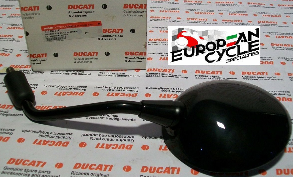 OEM Ducati Monster Right Mirror M600, M750, M900 52340021C