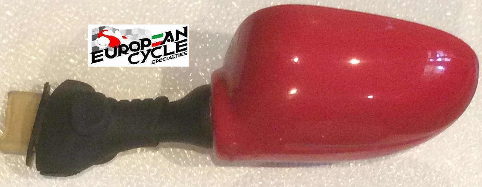 OEM Ducati 750/900SS left red custom painted mirror 52340091A