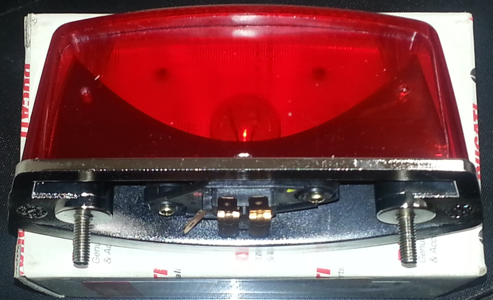 OEM Ducati Ducati Monster tail light bottom view 52540072A