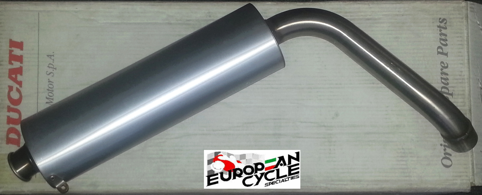 OEM Ducati 748 916 996 998 Superbike Left Hand Silencer 57410393A