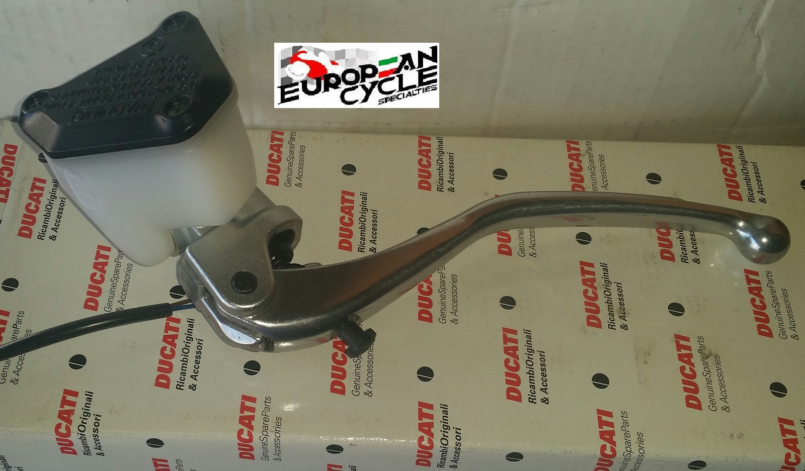 OEM Ducati Brembo Clutch Master Cylinder 63040261A & 63040263A