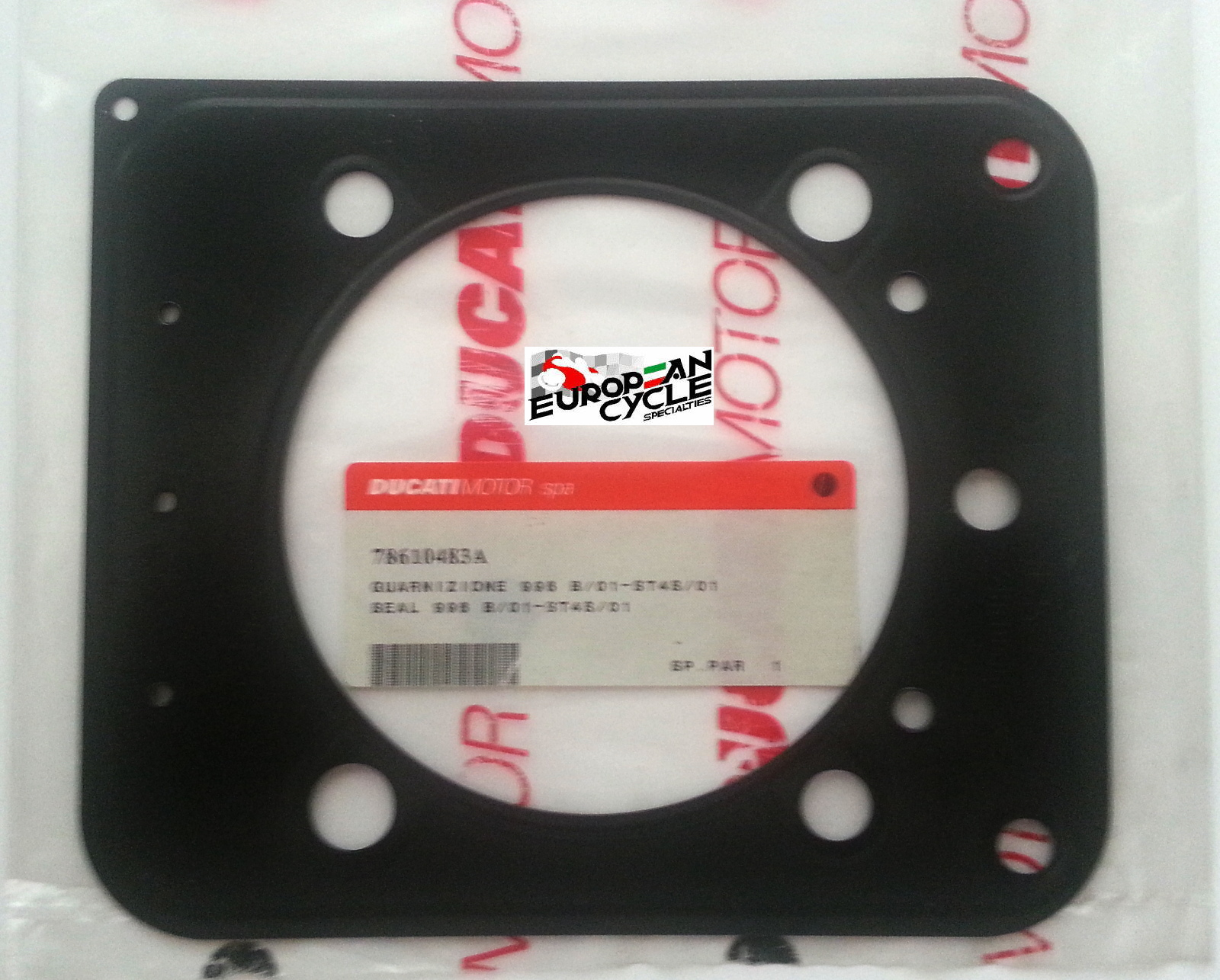 Ducati OEM 996SPS, ST4ABS & S4R Cylinder Head gasket 78610483A