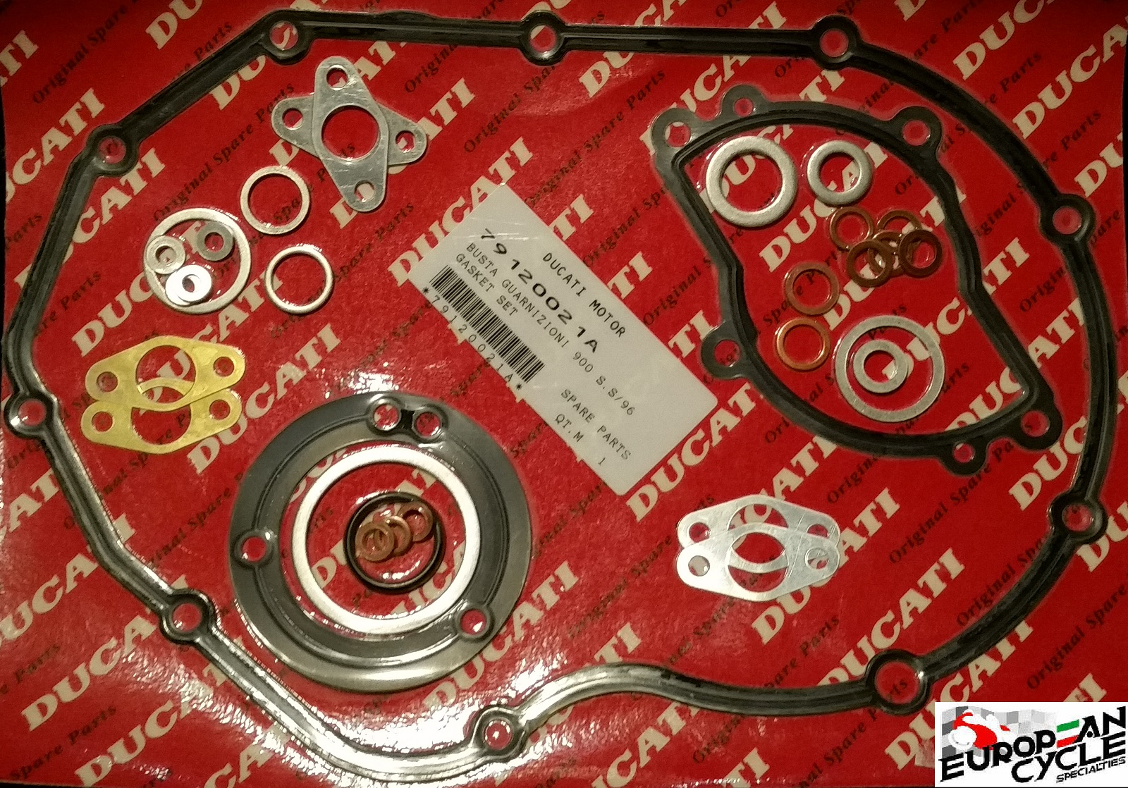 OEM Ducati Lower Gasket set 888 851 907 900 79120021A