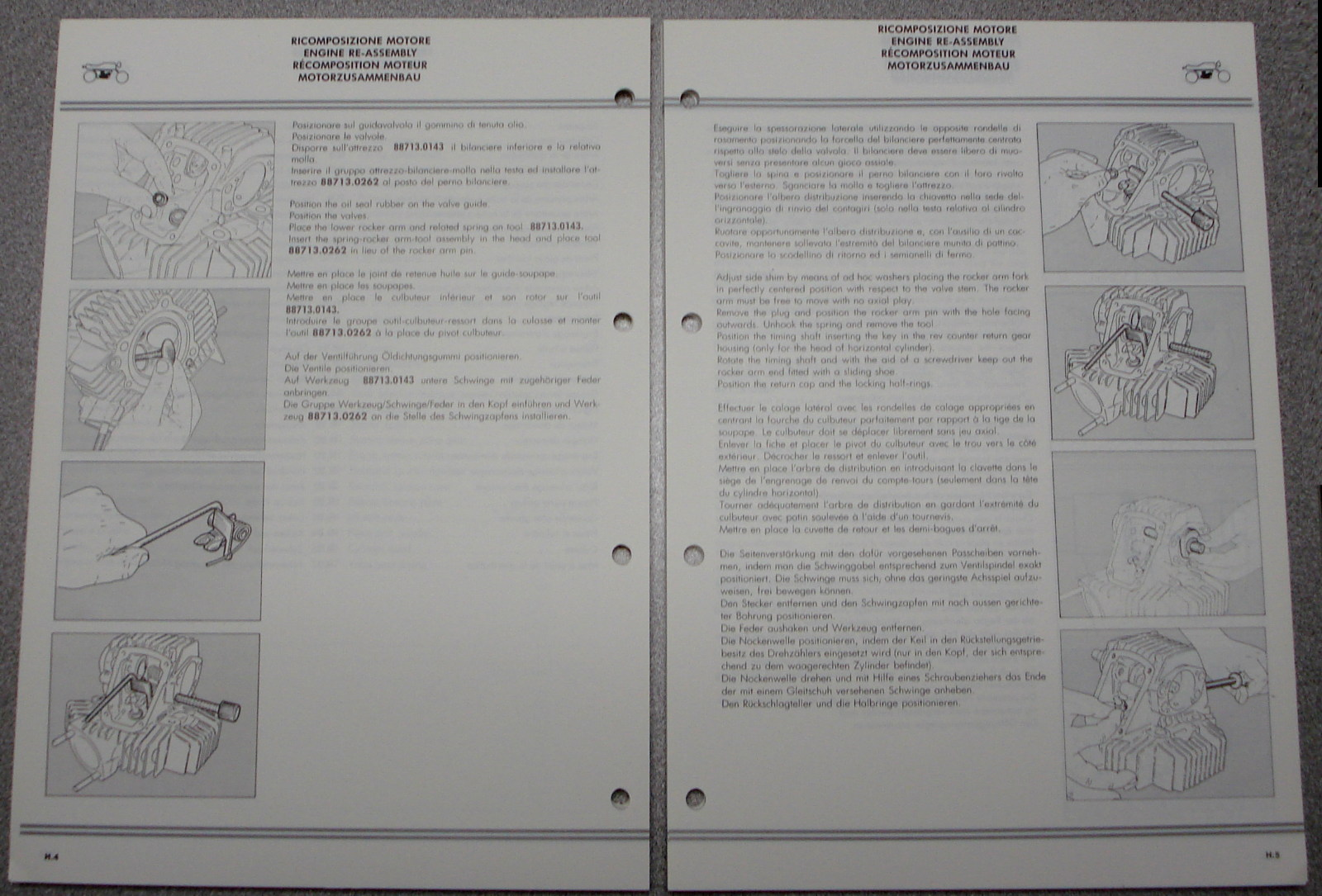 New OEM Ducati 750 Sport Factory Workshop Manual Maintenance Manual/with  wiring digaram. 4 Languages: Italian, English, French, German. Ducati Part  ...