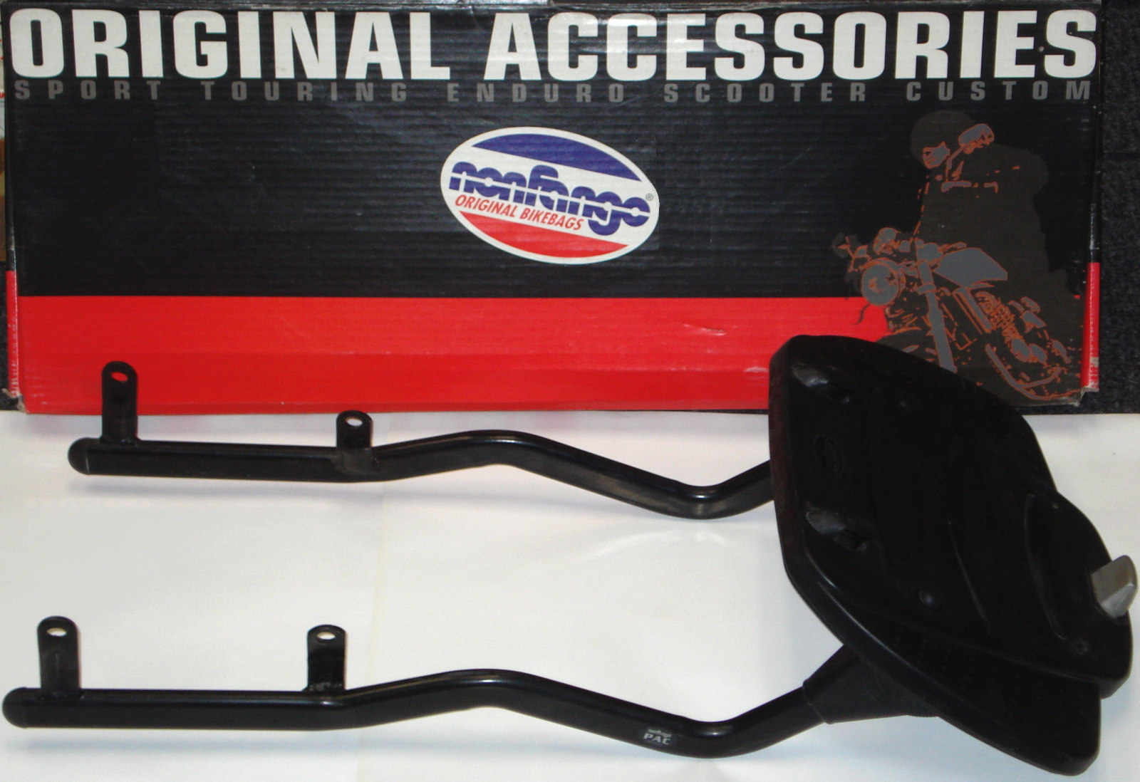 OEM Ducati Performance Nonfango Adjustable Top ST Trunk/bag Mounting Brackets