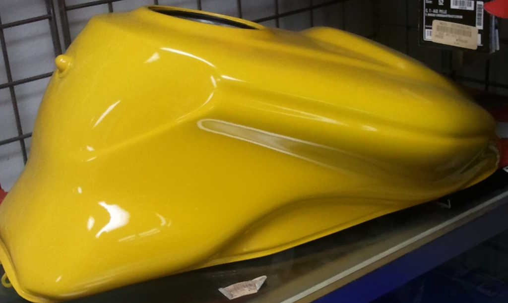 OEM Ducati 900ss tank yellow